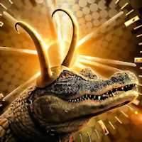 Фото Крокодил-Локи - Локи